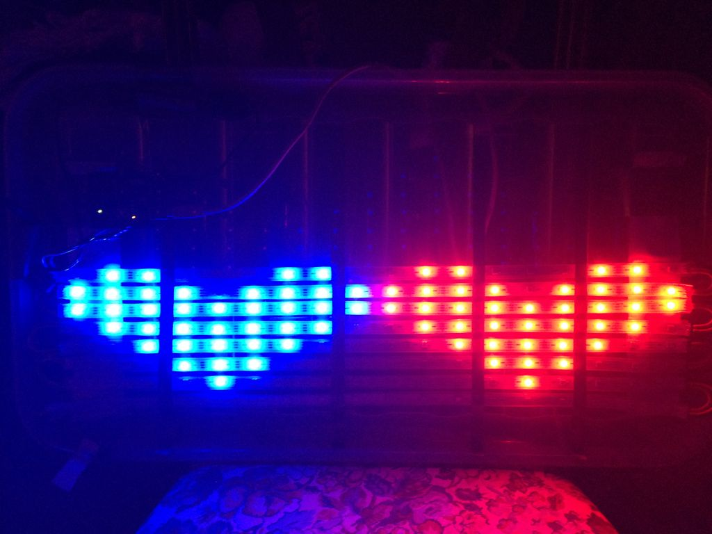 RGB LED matrix build
